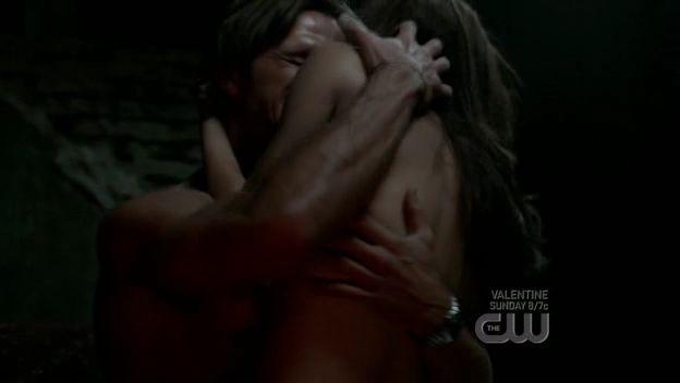 Jared Padalecki E Genevieve Cortese In Un Momento Dell Episodio I Know What You Did Last Summer Di Supernatural 96546