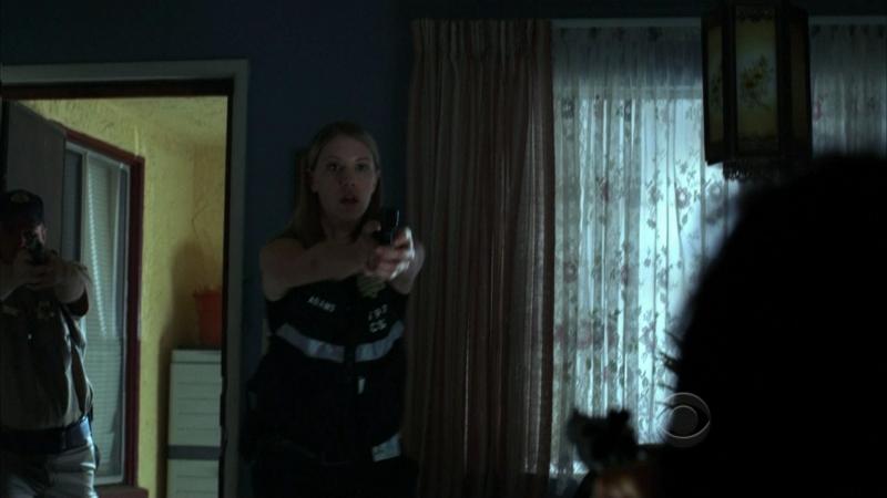 Lauren Lee Smith E George Eads In Una Scena D Azione Dell Episodio Say Uncle Della Serie Tv Csi 96605