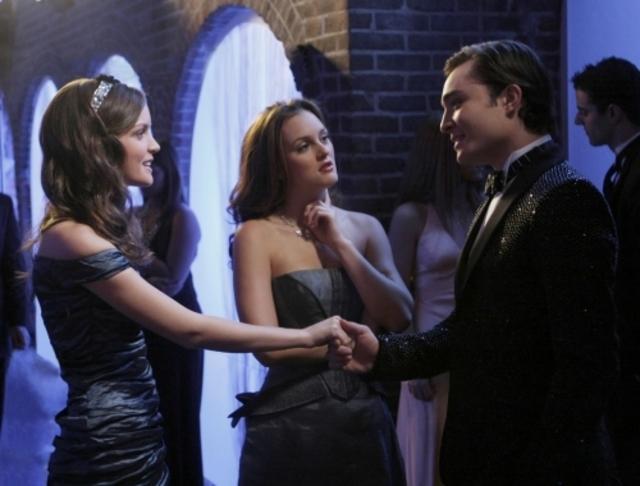 Leighton Meester Insieme Con Ed Westwick E Jennifer Damiano Nell Episodio It S A Wonderful Lie Della Serie Tv Gossip Girl 96588