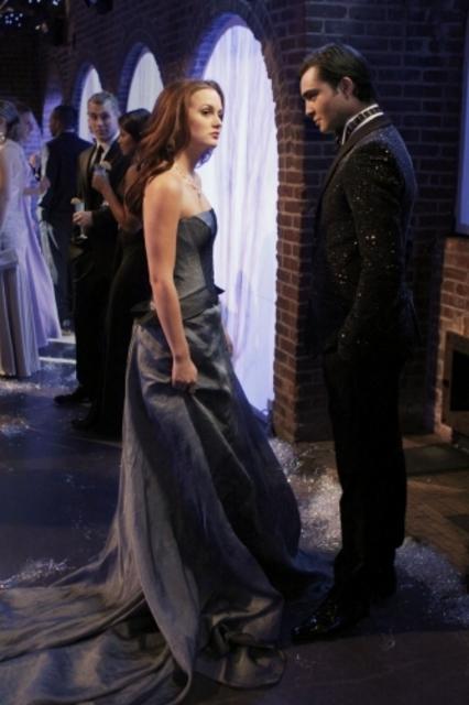 Leighton Meester Insieme Con Ed Westwick Nell Episodio It S A Wonderful Lie Della Serie Tv Gossip Girl 96581