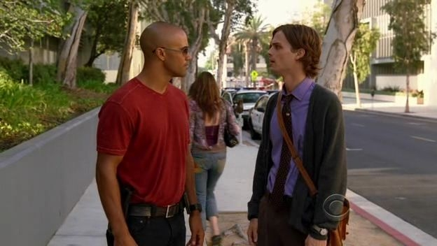Shemar Moore E Matthew Gray Gubler Nell Episodio Memoriam Della Serie Tv Criminal Minds 96515