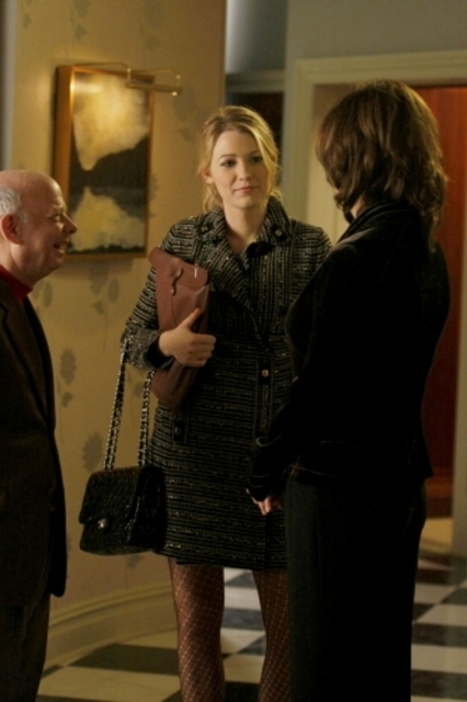 Wallace Shawn Con Blake Lively In Un Momento Dell Episodio The Magnificent Archibalds Della Serie Tv Gossip Girl 96560
