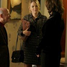 Wallace Shawn con Blake Lively in un momento dell'episodio 'The Magnificent Archibalds' della serie tv Gossip Girl