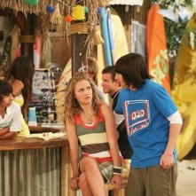 Miley Cyrus e Moises Arias nell'episodio Don't Go Breaking My Tooth di Hannah Montana