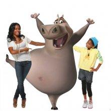 Jada Pinkett Smith e Willow Smith sono le doppiatrici dell'ippopotamo Gloria nel film Madagascar 2
