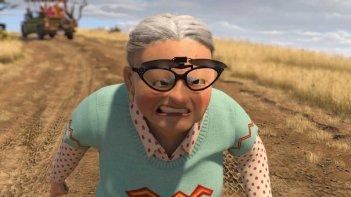 La terribile vecchietta del film Madagascar 2