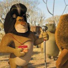 Makunga in un'immagine del film Madagascar 2