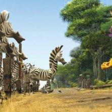Marty e Alex in un'immagine del film Madagascar 2