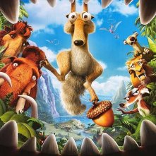 Nuovo poster per Ice Age: Dawn of the Dinosaurs