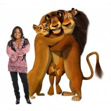 Sherri Shepherd è la doppiatrice della madre di Alex nel film Madagascar 2