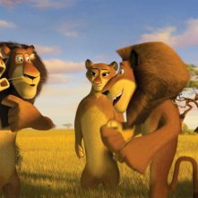 Un'immagine del film Madagascar 2
