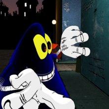 Una immagine della serie d'animazione Cattivik