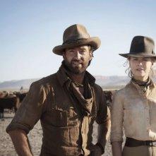 Hugh Jackman e Nicole Kidman sono i protagonisti del film Australia diretto da Baz Luhrmann
