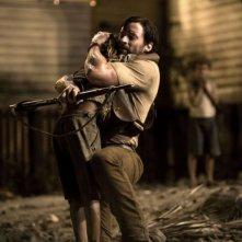 Hugh Jackman in un'immagine del film Australia diretto da Baz Luhrmann