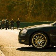Jason Statham in una scena del film Transporter 3