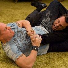 Jon Favreau e Vince Vaughn in una scena del film Four Christmases
