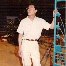 Keo Souvannavong  sul set de Il profumo della papaya verde