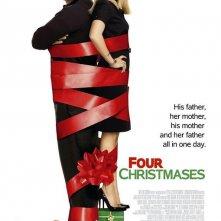 La locandina di Four Christmases