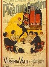 Locandina del 1925 di Il giardino del piacere