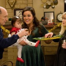 Robert Duvall, Katy Mixon e Reese Witherspoon in una scena del film Four Christmases