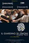 La locandina italiana di Il giardino di limoni
