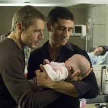 Lambert Wilson e Pascal Elbé in una scena del film Baby Love