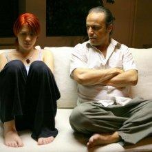 Roisin Grieco e Manuel Ferreira in una scena del film Diari