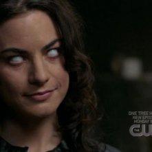 Traci Dinwiddie nei panni della sensitiva Pam Barnes nell'episodio 'Heaven and Hell' della quarta stagione di Supernatural