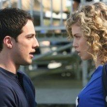 AnnaLynne McCord e Michael Trevino nell'episodio That Which We Destroy di 90210