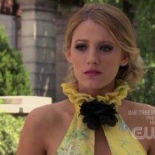 Blake Lively alla cerimonia matrimoniale nell'episodio ' Le strade si dividono ' della serie tv Gossip Girl