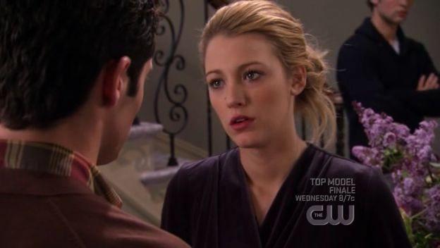 Blake Lively In Una Scena Dell Episodio Gioco Duro Della Prima Stagione Della Serie Tv Gossip Girl 97701