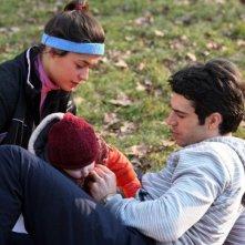 Diane Fleri e Luca Argentero in un'immagine di Solo un padre