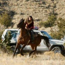 Genevieve Cortese nel ruolo di Kris nella prima stagione della serie tv Wildfire