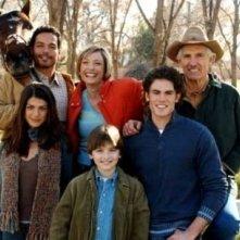Il cast della serie tv Wildfire in un'immagine promozionale della prima stagione