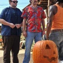 Jason Lee e Ethan Suplee in una scena dell'episodio 'Little Bad Voodoo Brother' della serie tv My name is Earl