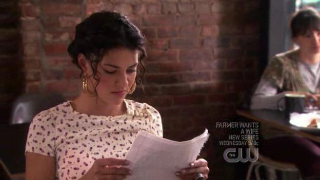 Jessica Szohr In Una Scena Dell Episodio L Arrivo Di Georgina Della Serie Tv Gossip Girl 97676