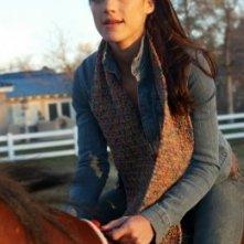 La bella Genevieve Cortese nella prima stagione della serie tv Wildfire