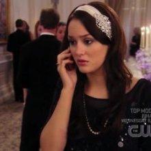 Leighton Meester nell'episodio 'Gioco Duro' della prima stagione di Gossip Girl