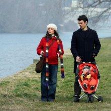Diane Fleri e Luca Argentero in un'immagine di Solo un padre diretto da Luca Lucini
