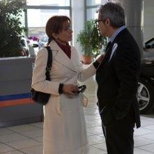 Rosaria De Cicco e Pasquale Falcone in una scena del film Io non ci casco