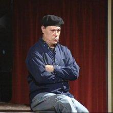 Vittorio Marsiglia durante lo spettacolo teatrale 'Isso, essa e'o malamente'