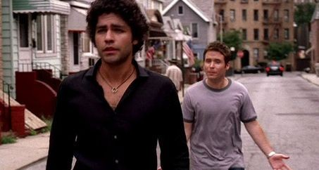 Adrian Grenier E Kevin Connolly Una Scena Dell Episodio Return To Queens Blvd Della Quinta Stagione Di Entourage 97773