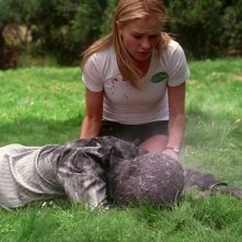 Anna Paquin in una scena dell'episodio 'You'll Be the Death Of Me' della serie True Blood