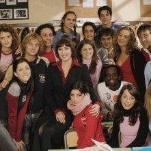 Immagine promo di Provaci ancora Prof. 1 - Veronica Pivetti tra i protagonisti della prima e seconda serie, tra cui Pamela Saino e Lorenzo De Angelis