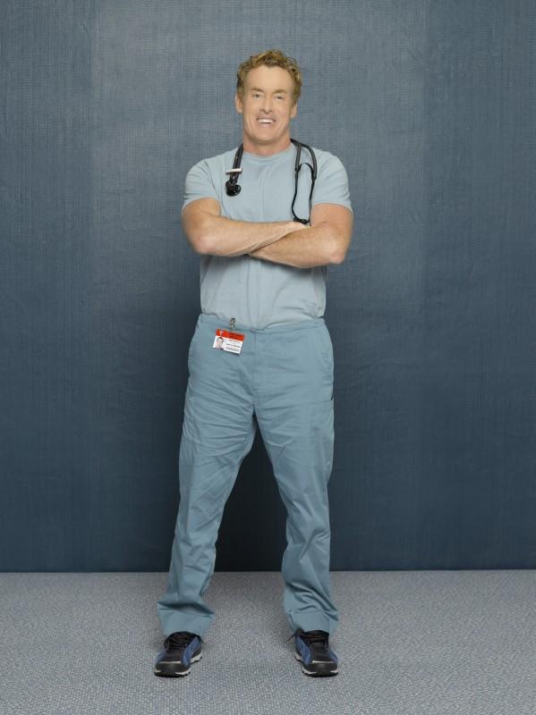 John C Mcginley In Una Foto Promozionale Dell Ottava Stagione Di Scrubs 97917