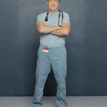 John C. McGinley in una foto promozionale dell'ottava stagione di Scrubs