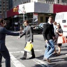 Kevin Connolly e Michael Phelps in una scena dell'episodio 'Return to Queens Blvd' della quinta stagione di Entourage