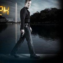 Kiefer Sutherland è Jack Bauer nella settima stagione di 24