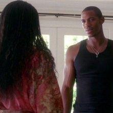 Mehcad Brooks in una scena dell'episodio You'll Be the Death of Me della serie True Blood