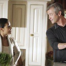 Nicole Tubiola e James Read nell'episodio 'Addio Socio' della terza stagione di Wildfire